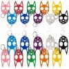 The Original ~ Wild Kats & Dogs Self Defense Key-Chains ~ 22 Colors Your Choice