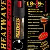 Palm Sized ~ HEATWAVE Pepper Spray ~ .5 OZ w/ KEY RING & POCKET CLIP